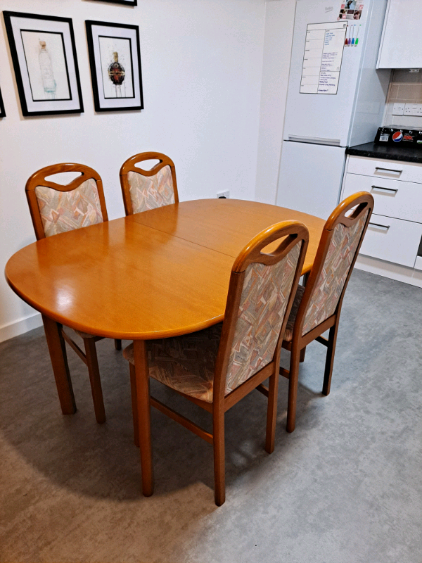 Dining Table & Chairs   in Glasgow   Gumtree