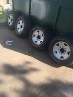 Ford Super duty wheels and new tires