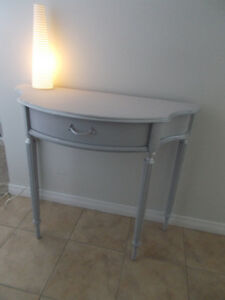 Pretty Hall/Wall Table that can also be used as a desk