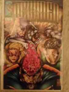 Signed 1st Edition Newmen Comic Book