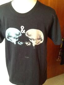 🎁🎄 Paul Smith Mens T shirt Love & Hate XL pristine