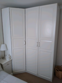 IKEA PAX WHITE WARDROBE COMBINATION