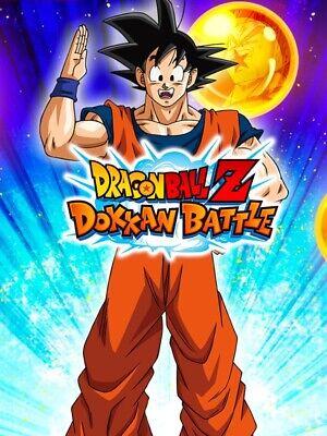 dokkan battle account over 2000 Stones For Every Region (GL/JP)