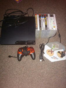 Ps3 120gb with 11 games