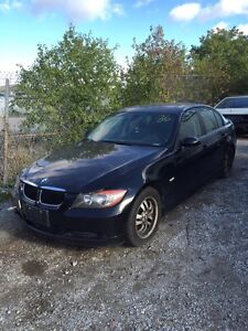 BMW e90 323 part out 6 speed manual