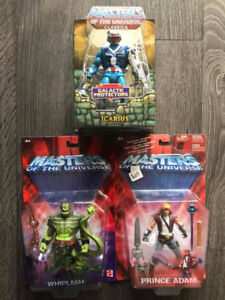 Masters of the Universe Action Figures Toys Adam Whiplash 200X