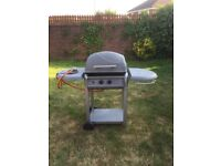 2 burner gas barbecue