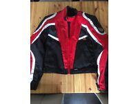 Frank Thomas motor bike jacket