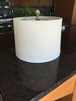 "**LIKE NEW** Lanp shade 12"" x 9 1/4"""