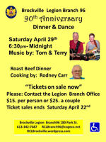 """Tickets on sale now"" 90th Anniversary Dinner/ Dance"
