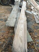 Assorted 20 feet long white oak