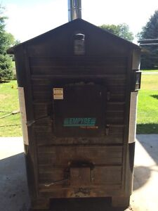 Empyre wood furnace outdoor!!!