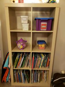 Cube shelf storage 4x2