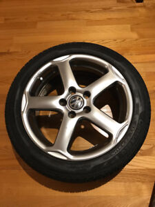 "Alloy Wheels VW Karthoum 17"" + Pirelli Cinturato P7 All Season"
