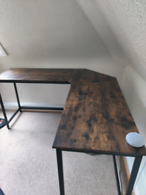 Wayfair L-Shaped Desk (Brand new -with defects)