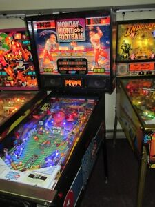 PINBALL MONDAY NIGHT FOOTBALL