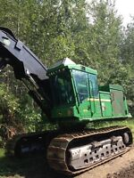 Feller buncher John Deere 953k for sale