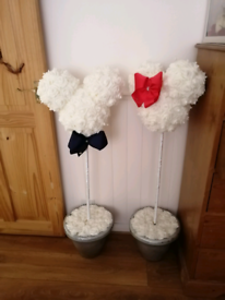 Micky and minnie rose heads
