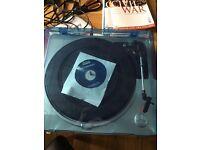 Tevion USB turntable record player - unused