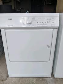 AEG T65170AV tumble dryer - vented