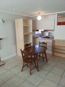 Basement suite (two rooms) near 22nd St Station ($600/room)