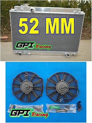 Aluminum Radiator Fans for LEXUS SC300 Z30 TOYOTA SOARER JZZ31 3.0L MT 91-00