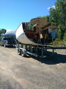 Sailboat and powerboat recycling