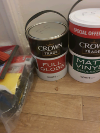 Crown Trade paint for sale