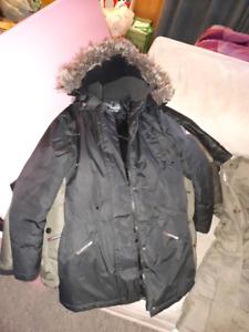 Manteau long jeune fille 10-12 ans