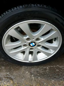 2008 bmw rims and winters