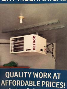 Garage Heater Unit & Installation