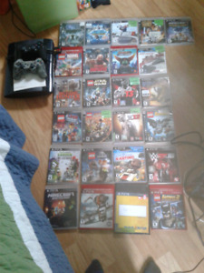 Ps3 with 27 games and 2 controllers