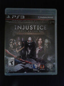 Injustice, Ultimate edition - PS3