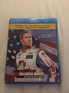 Talladega Nights movie ( Blu-ray disc )