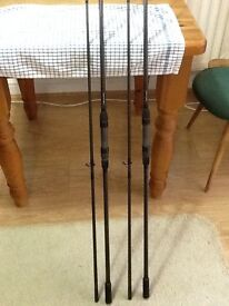12ft,2.75lb tc,CUSTOM BUILT CARP RODS.