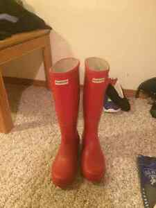Brand new authentic Hunter boots Regina Regina Area image 1