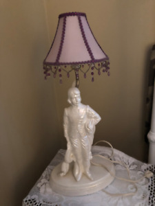 Lamps for sale white man and lady