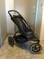 Phil & Ted's Navigator Stroller w/second seat, 3 spare tubes