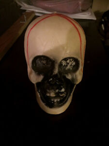 Halloween Skull candle collectable