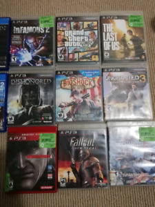 Ps4 games and ps3 games