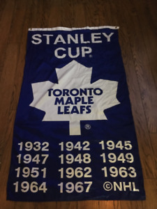 Toronto Maple Leafs Hockey Flag Banner NHL PLAYOFFS GO LEAFS GO
