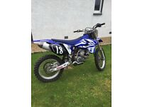 YAMAHA YZF 250 2005 , not crf kxf rmz