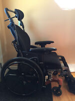 WHEELCHAIR (MADE BY PRIDE) IN EXCELLENT CONDITION