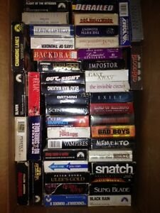 140 VHS Movies, film of year, action ask 1.00 or BO takes all London Ontario image 4
