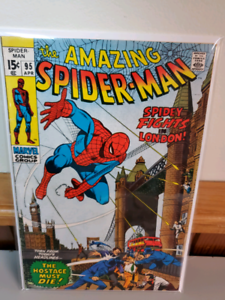 The amazing spiderman 95 mid grade