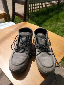 Grey suede DC shoes size 11