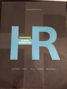 Managing Human Resources (8th Canadian Edition)