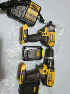 Dewalt 20v impact driver and drill