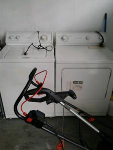 Used washer dryer set