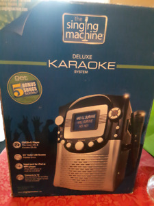 New Low Price - The Singing Machine Karaoke System